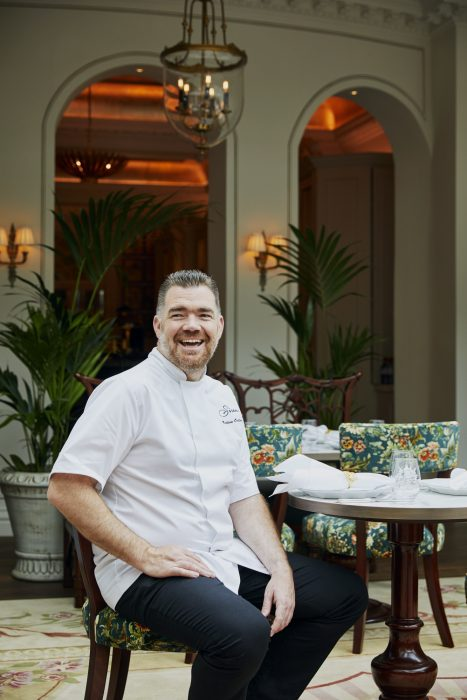 Nathan Outlaw at The Goring